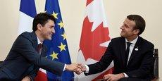 Malgré la bonne relation affichée entre Justin Trudeau et Emmanuel Macron, les échanges commerciaux entre la France et le Canada sont peu dynamiques.
