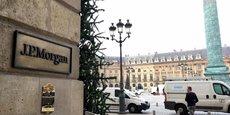 Le siège de JP Morgan à Paris, dans le très chic quartier de la place Vendôme.