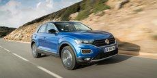 Le T-Roc affiche les mêmes codes stylistiques en vigueur dans la gamme SUV de Volkswagen.