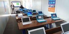 Parmi les 645 écoles actuellement équipées de salles de classe intelligentes, l'on relevait encore il y a quelques mois des problèmes de connexion à Internet.