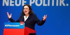 ALLEMAGNE: UNE FEMME PRÉSIDENTE DU SPD, UNE PREMIÈRE EN 154 ANS