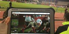 Vogo Sport permet de revoir les actions sportives dans l'enceinte des stades.