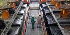 La mine Kamoto Copper Company (KCC)  est détenue à hauteur de 75% par Katanga Mining et à 25% par Gécamines.