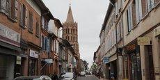 Le centre-ville de Grenade peine à attirer les consommateurs.