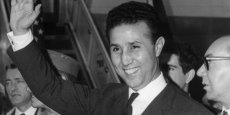 Ahmed Ben Bella, en 1965 - Copyright AFP