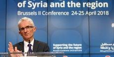 SYRIE: DONS EN DEÇÀ DES ATTENTES DE L'ONU À LA RÉUNION DE BRUXELLES