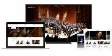 Medici.tv, plateforme de streaming de musique classique lancée en 2008, a généré un chiffre d'affaires de 5 millions d'euros en 2017.