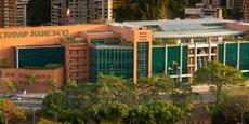 Le siège de la principale banque privée du pays à Caracas.