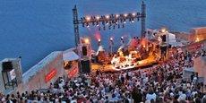 Le Théâtre de la Mer de Sète est l'un des hauts lieux festivaliers de la ville de Sète.