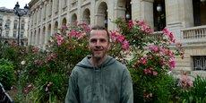 Charles-Edouard Oksenhendler, l'un des organisateurs des 24h du recyclage à Bordeaux.