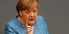 La chancelière allemande Angela Merkel a détaillé sa vision d'une réforme de la zone euro.