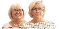 Patricia Lasnier (à gauche) et Béatrice Parmentier sont coprésidentes d'Initiative Bretagne.