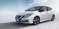 La Nissan Leaf se met au diapason des nouveaux codes stylistiques de Nissan.
