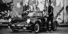Gauthier Laviron et Bastien Vanlathem, les cofondateurs de Gryp, entreprise d'impression 3D de pièces détachées pour les véhicules de collection de 1970 à 2000.