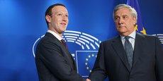 Mark Zuckerberg est arrivé au Parlement européen ! Suivez sa rencontre avec les dirigeants des groupes politiques en direct d'ici quelques minutes.