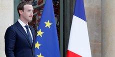 Mark Zuckerberg, Pdg et co-fondateur de Facebook, a rencontré Emmanuel Macron à l'Élysée le mercredi 23 mai, à l'occasion du sommet Tech for Good.