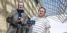 Nicolas Bournet et Serge Chaumette, cofondateurs de NFC-Interactive