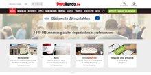 Capture écran Paruvendu.fr