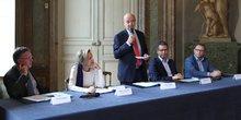 Conf de presse Emploi mairie de Bordeaux