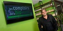 Philippe Bramedie, président-fondateur de l'enseigne Les Comptoirs de la Bio
