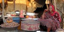 tchad commerce vendeuse marché