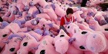 licorne peluches Chine