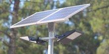 L'éclairage solaire permet une économie de 100 %