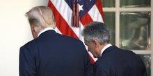 Trump, Powell, Fed
