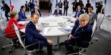 G7 sommet Macron Trump Merkel