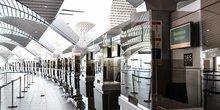 Mesures sanitaires à Aéroport de Lyon Saint Exupéry