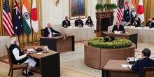 Les dirigeants du quad plaident pour une region indo-pacifique libre