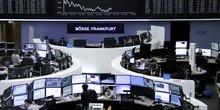 Bourse de Francfort (marchés financiers, marché financier) le 24 mars 2016