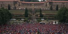 Manifestation Afrique du Sud