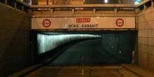 Tunnel de l'étoile Paris