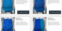 Stif tissu sièges transports oubkics