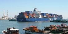 Canal Suez Egypte commerce transport maritime