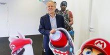 Yves Guillemot, PDG d'Ubisoft à Bordeaux