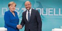 Angela Merkel Martin Schulz