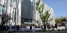 Inauguration de l'@7 Center à Montpellier, le 18 mai 2018