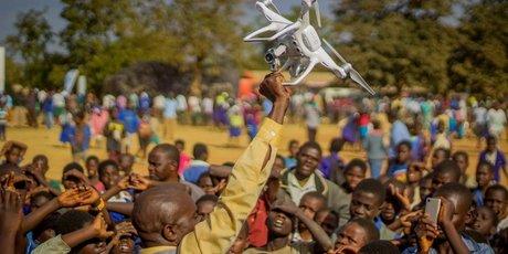 Drone au Malawi