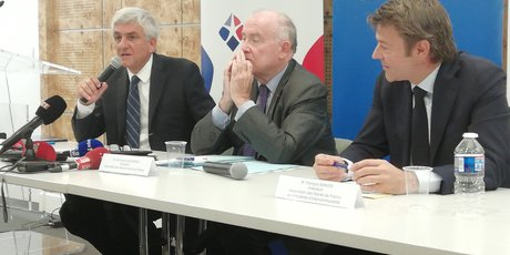 Hervé Morin, Dominique Bussereau et Fran?ois Baroin