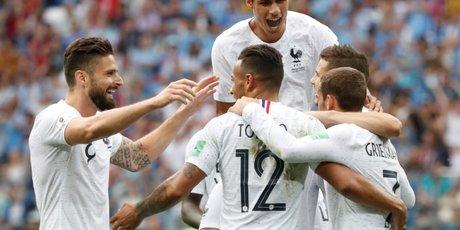 Football: la france dans le dernier carre de la coupe du monde