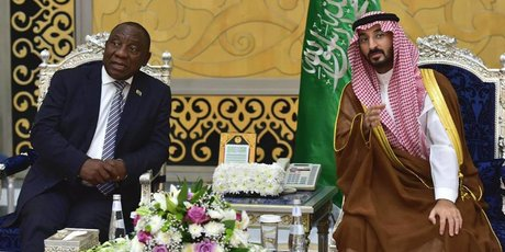 Ramaphosa arabie saoudite