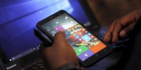Téléphone mobile smartphone réseau