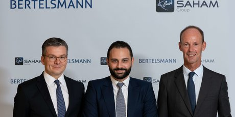 Moulay Mhamed Elalamy Thomas Mackenbrock Thomas Rabe, Président du Groupe Bertelsmann saham