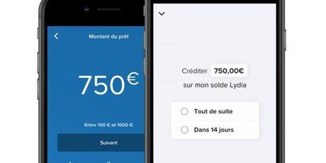 Lydia prêt instantané crédit conso Banque Casino