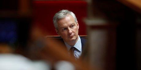 Bruno Le Maire, ministre des Finances,