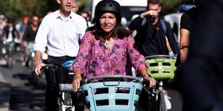 Hidalgo en tete au premier tour des municipales a paris