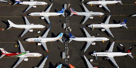 Boeing 737 MAX, cloués au sol, Seattle, Washington, Etats-Unis,