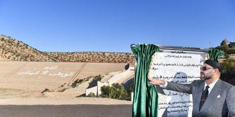barrage maroc abderrahmane roi mohammed Vi